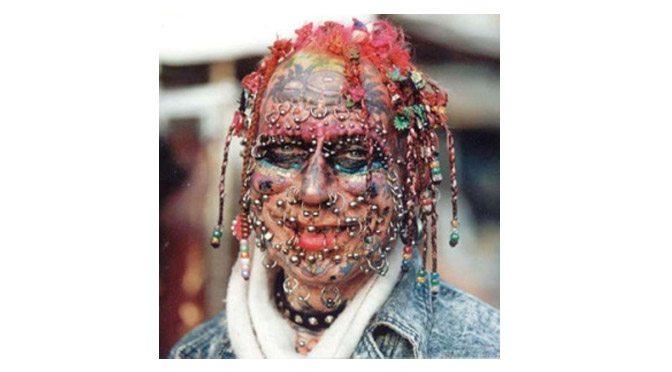 multi-pierced girl