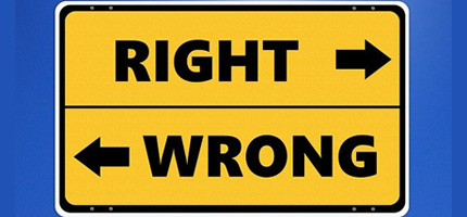 right-wrong