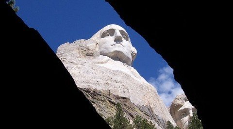 George Washington on Mt. Rushmore