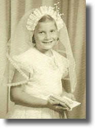 Sue Bohlin at 8 years old