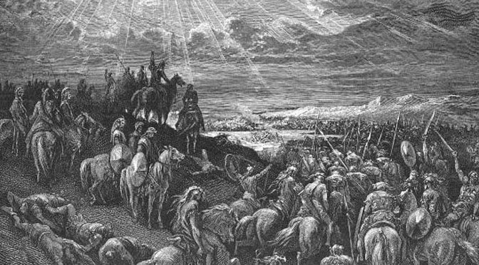 canaanite wars