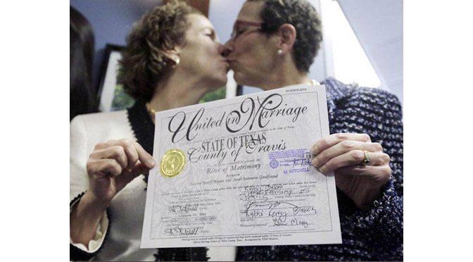 Texas' First Lesbian Wedding