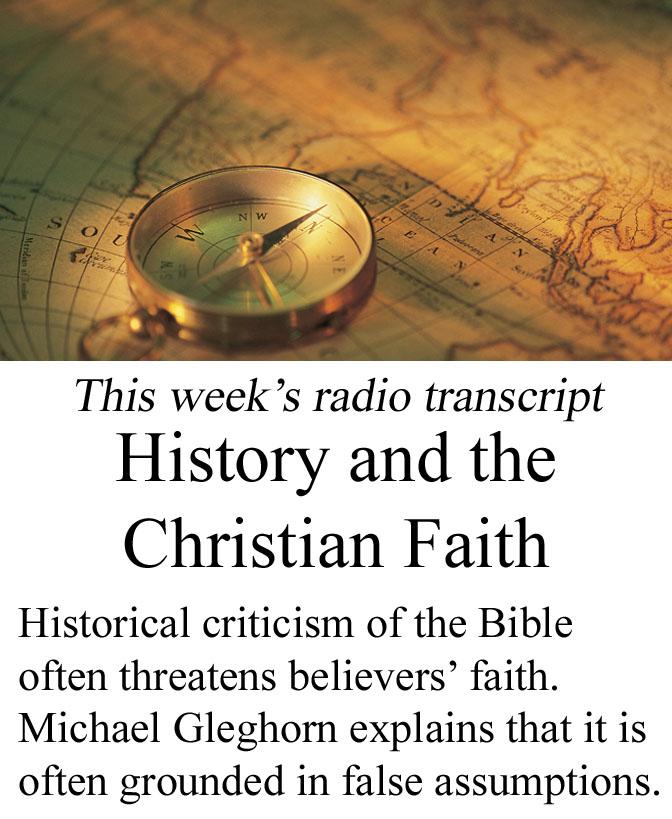 History and the Christian Faith