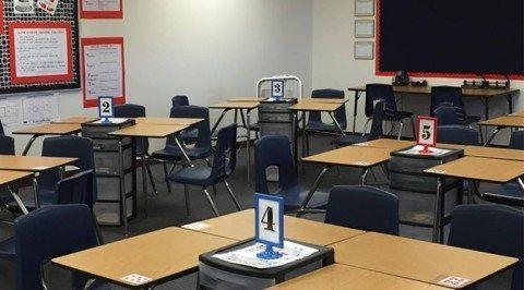 American classroom