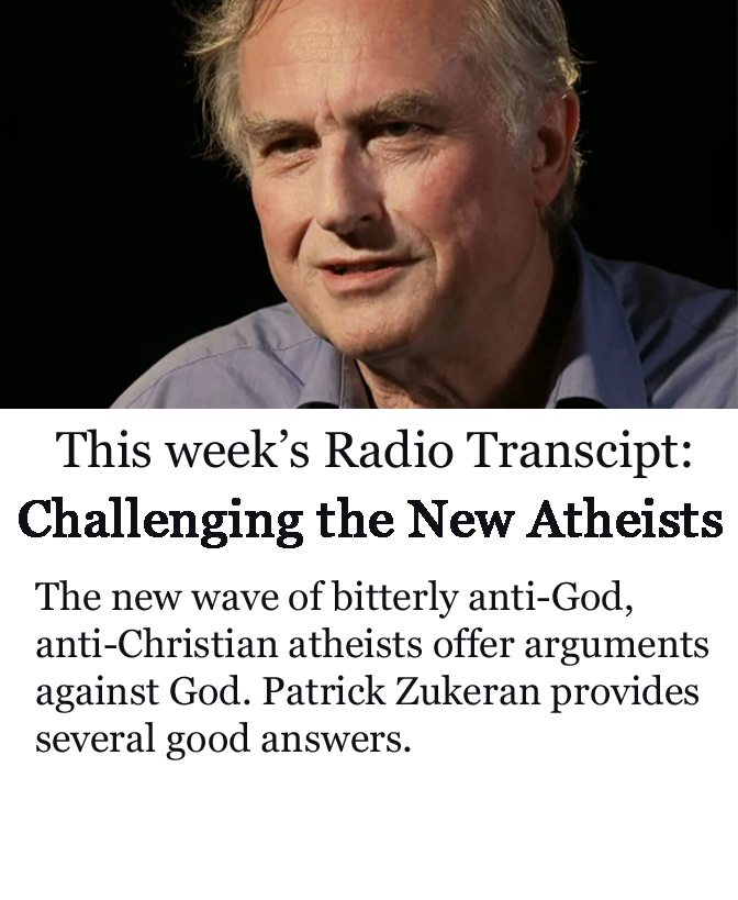 Challenging New Atheists banner