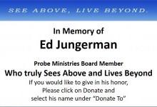 Ed Jungermann Memorium