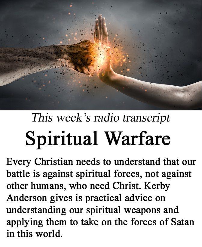 Spiritual Warfare banner