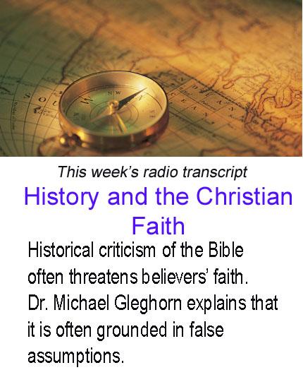 History and the Christian Faith banner