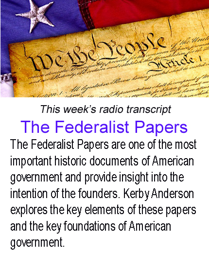 The Federalist Papers banner