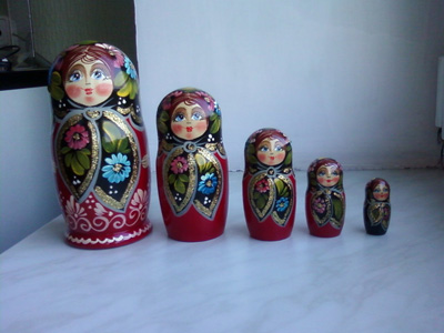 Matrushka dolls from Belarus